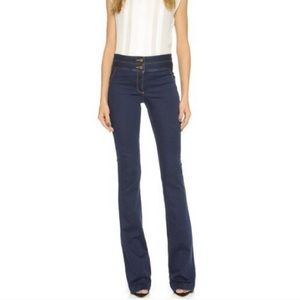Veronica Beard Flare dark denim jeans size 0.
